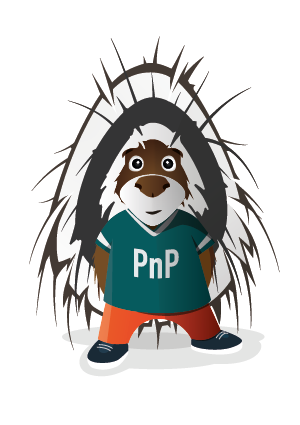 Parker the Mascot for PnP